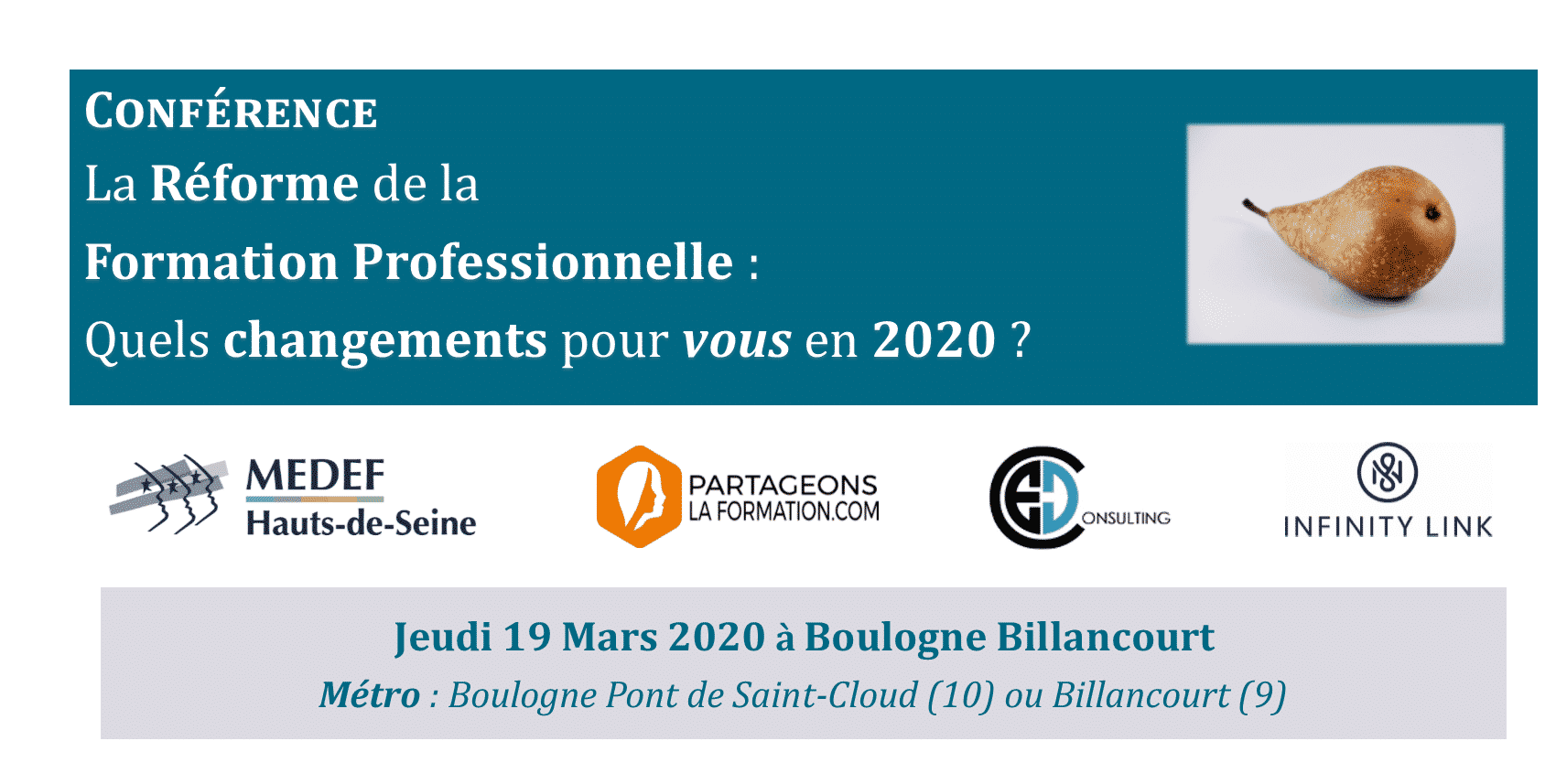INVITATION ÉVÉNEMENT                                      MARS 2020